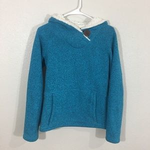 KOPPEN super soft comfy lined wool hoodie sweater